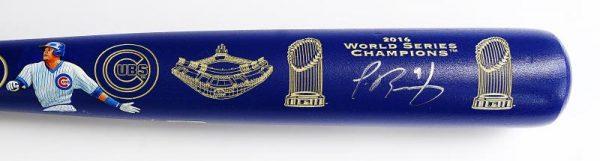Bat Cubs 2016 WS Champs Close up 1
