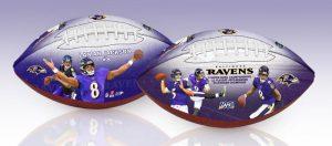 Ravens100th Jackson2ballSet 2shot 2
