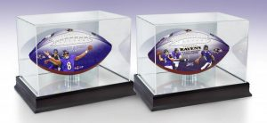 Ravens100th Jackson2ballSet InCases 2