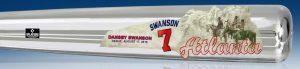 SwansonBravesChromeArtBat Medium