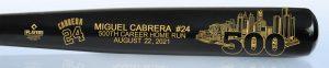 Cabrera500thHR BlackBatEngraved Medium